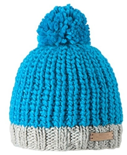 Barts Unisex Pudelmütze Jordan Beanie, Blau (Blau) One Size -