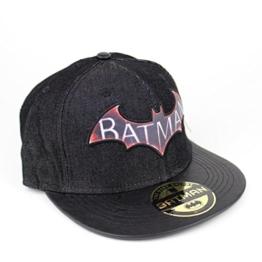 Batman Logo Herren Baseball Cap - Arkham Knight Denim Snapback Cap -
