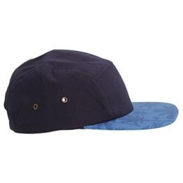 Beechfield Erwachsene Unisex Graphic Kappe (Einheitsgröße) (Marineblau/Indigo Palme) -