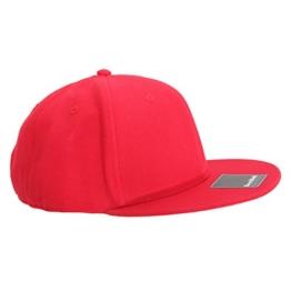 Beechfield Erwachsenen Unisex Signature Kappe (Einheitsgröße) (Rot) -