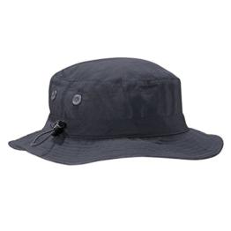 Beechfield Herren Fischerhut Cargo Bucket Hat,, Gr. Large,Grau (Graphite) -