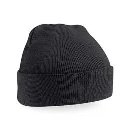 Beechfield - Winter Strickmütze Einheitsgröße,Black -