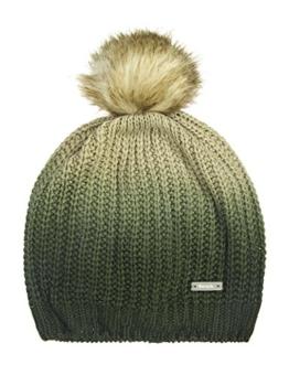 Bench Damen Ohrenschützer Bommelmütze Corked grün (Beetle) One Size -