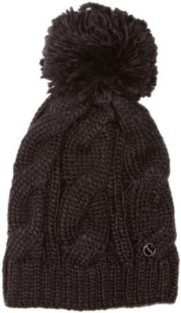 Bench Damen Ohrenschützer Mütze Lavendah schwarz (black (BK001)) One Size -