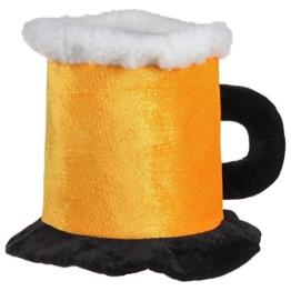 Bierhut mit Henkel (One Size, Gelb) -