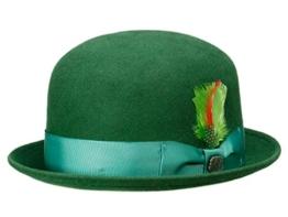 Bigalli Derby Bowler - dark green M/56-57 -