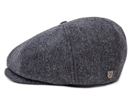 Brixton Brood Ballonmütze Schirmmütze Newsboy - dark grey M/57-58 -