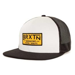 Brixton Cap Dunning Mesh, White/Black, One Size, BRIMCAPDUN -