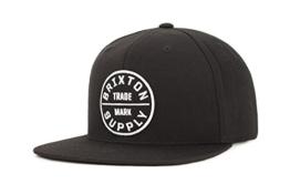 Brixton Cap OATH 3  black, One Size, BRIMCAPOAT3 -