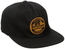 Brixton Cap SOTO Snapback  Black, One Size, -