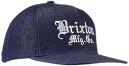 Brixton Cap Vincent, Denim, One Size, BRIMCAPVIN -