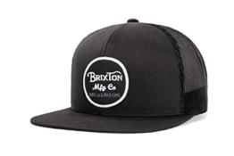Brixton Cap WHEELER Mesh  black, One Size, BRIMCAPWHE -