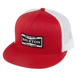 Brixton Fuel Trucker Cap - Rot - Einstellbar -