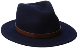 Brixton Hat Hat MESSER  Navy, L -