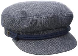 Brixton Herren Fiddler Cap, Denim/Dark Navy, L -