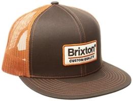 Brixton Herren Palmer Mesh Cap, Brown, One Size -