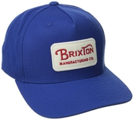 Brixton Kappe Grade Snap, royal, One Size, BRIMCAPGRA -