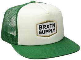 Brixton Unisex Fallon Mesh Cap, Off White, One Size -