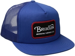 Brixton Unisex Grade Mesh Cap, Royal, One Size -