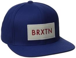 Brixton Unisex Kappe Rift Snapback, royal, one Size, BRIMCAPRIF -