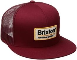 Brixton Unisex Palmer Mesh Cap, Burgundy, One Size -