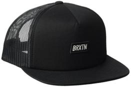 Brixton Unisex Socket Mesh Cap, Black, One Size -