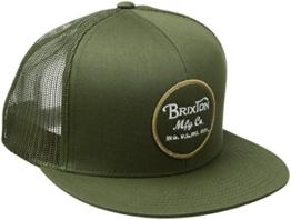 Brixton Unisex Wheeler Mesh Cap, Olive, One Size -