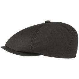 Brooklin Canvas Gatsbycap Stetson Schlägermütze Baumwollcap (L/58-59 - beige) -