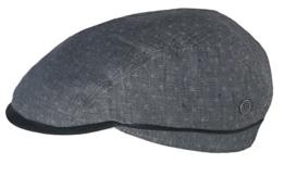 Bugatti Sommer Flatcap Leo Anthrazit 57 -
