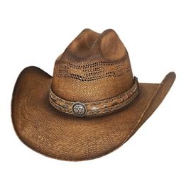 Bullhide Herren Cowboyhut braun braun Gr. Large, braun -
