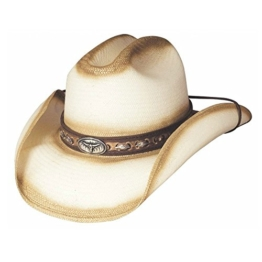 Bullhide Herren Cowboyhut cremefarben cremefarben Gr. Medium, cremefarben -