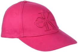 Calvin Klein Jeans Damen Baseball RE-Issue Cotton Cap CP Unisex, Rosa (Bright Rose 640), One Size (Herstellergröße: OS) -