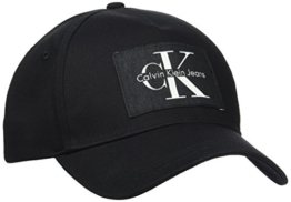 Calvin Klein Jeans Herren RE-Issue Baseball Cap, Schwarz (Black 001), One Size -