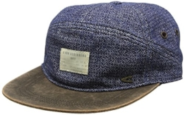 Camel Active Herren Baseball Cap 5C26, Blau (Denim 41), Large -