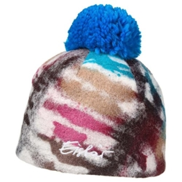 Camo Wintermütze Bommelmütze Eisbär Bommelmütze Damenmütze (One Size - blau) -