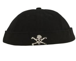 Cap COCO-Caps - ChillOuts schwarz mit Totenkopf -