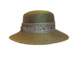 Capo Damen Trachtenhut Stichelhaar 15000-4-67-63 grün -