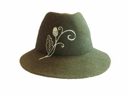 Capo Damen Trachtenhut Stichelhaar 5121-41-169-0-43 grün -