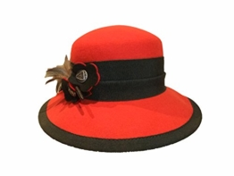 Capo Damen Trachtenhut Wollfilz 4028-2-2576 rot -