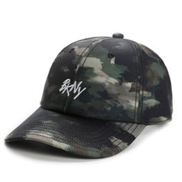 Cayler & Sons Herren Caps / Snapback Cap Scripted camouflage Verstellbar -