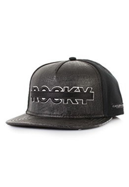Cayler & Sons PU Snapback DOLLADOLLA Black White, Size:ONE SIZE -