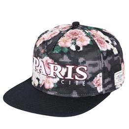 Cayler & Sons Snapback - LE PARISIEN - Floral Digi-Black, Size:ONE SIZE -
