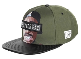 Cayler & Sons Snapback PACASSO Forest Green Mc, Size:ONE SIZE -