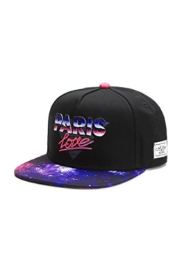 Cayler & Sons Snapback PARIS LOVE Black Pink Mc, Size:ONE SIZE -