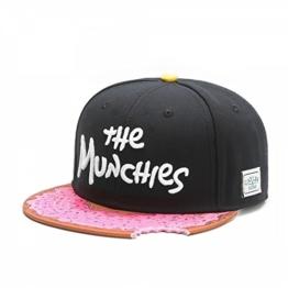 Cayler&Sons Cap Munchies Black Pink Farbe: Black -
