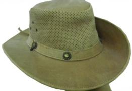 Celebrita Vollrindleder Classy Cowboy Lederhut Braun L (60 cm) -