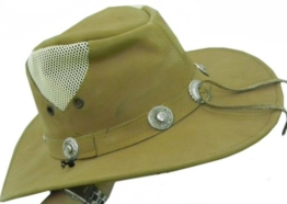 Celebrita Vollrindleder Sky Cowboy Lederhut Hellbraun XS (57cm) -