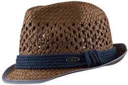 Chillouts Freeport Hat Trilby Hut Sonnenhut Fedora (55-57 - Braun) -
