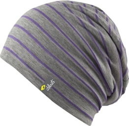 CHILLOUTS - LARGOS HAT LAG03 - LILA / GREY -