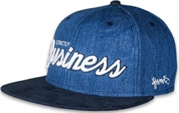 Color Denim Snapback Cap by Djinns (One Size - blau) -